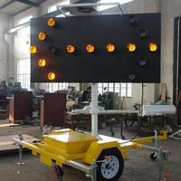 Solar Powered Arrow Board Trailer