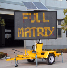 Hydraulic Lifting Type Variable Message Sign